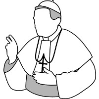 His Holiness The Pope, Supreme Pontiff, Bishop of Rome, Italy